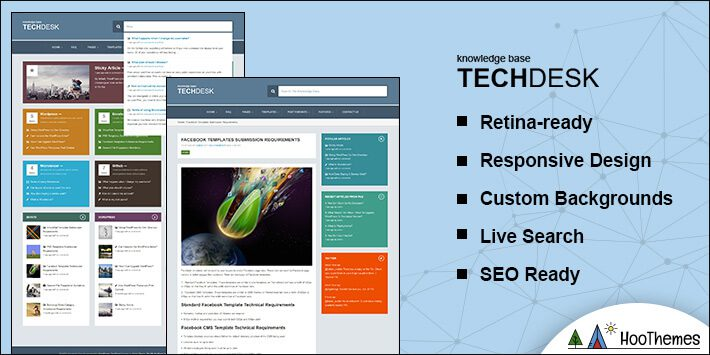 TechDesk Helpdesk WordPress Theme