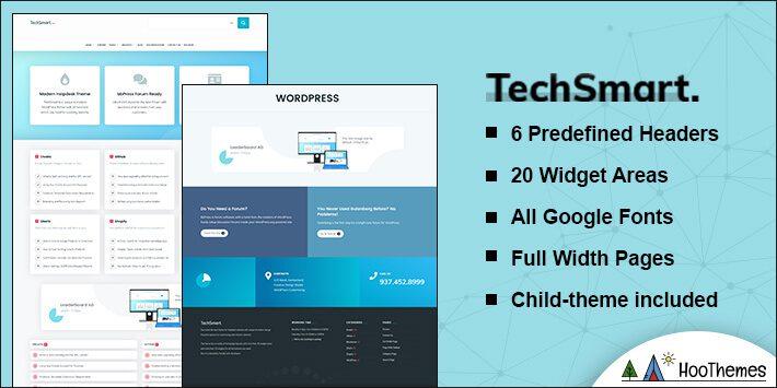 TechSmart Helpdesk WordPress Theme