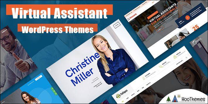 Virtual Assistant WordPress Theme