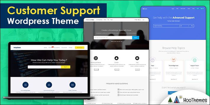 Customer Support WordPress Theme